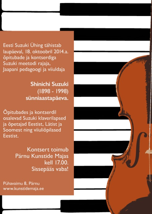 Suzuki Sügiskontsert